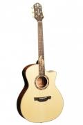 Электроакустическая гитара CRAFTER SM-Maho Plus   Кейс