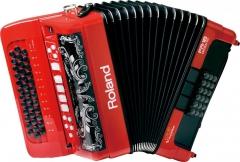 Диатонический аккордеон Roland  FR-18 diatonic (черный, красный)