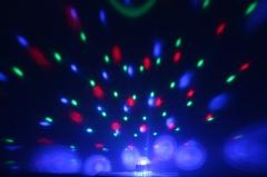 """Эффект светодиодный """"кристальный магический"""" шар и """"радуга"""" Led"""