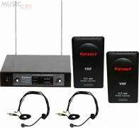 Karsect KRV-202*KLT-80V*HT-1A радиосистема VHF Diversity
