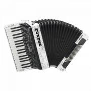 HOHNER Amica III 72 White (A3861) - концертный аккордеон 3/4, цв