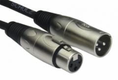 Schulz MOD 1 — 1 м немецкий микрофонный кабель XLR гнездо — XLR