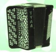 """Баян """"Тула"""" БН-10 107/64х120-III-7: ученический многотембровый"""