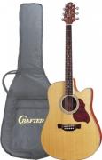 Электроакустическая гитара CRAFTER DTE-6/N + Чехол