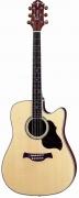 Электроакустическая гитара CRAFTER DE-8/N + Чехол