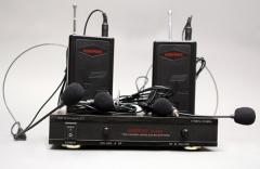 Радиосистема AUDIOVOICE WL-22HPM с 2-мя портативными передатчика