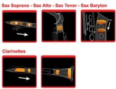 Сурдина для сопрано саксофона Saxmute 723.000