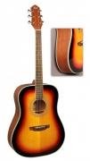 Акустическая гитара FLIGHT AD-200 3TS