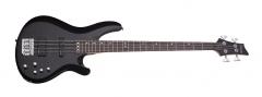 Бас-гитара SCHECTER C-4 Deluxe STBLK