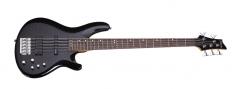 Бас-гитара SCHECTER C-5 Deluxe STBLK