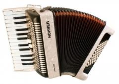 Детский аккордеон HOHNER Bravo II 48 (A1051/4051) 1/2 white