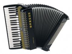 Полный концертный аккордеон HOHNER Atlantic IV 120 MP Musette+Pa