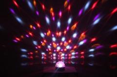 """Эффект светодиодный """"кристальный магический"""" шар Led Star Disco"""