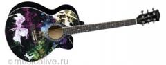 Гитара акустическая SPREAD MUSIC SM W-01CP3 BK