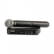 Радиосистемы вокальные SHURE BLX24E/PG58 M17 662-686 MHz