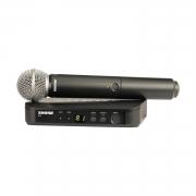 Радиосистемы вокальные SHURE BLX24E/SM58 M17 662-686 MHz