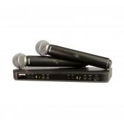 Радиосистемы вокальные SHURE BLX288E/PG58 M17 662-686 MHz