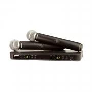 Радиосистемы вокальные SHURE BLX288E/SM58 M17 662-686 MHz